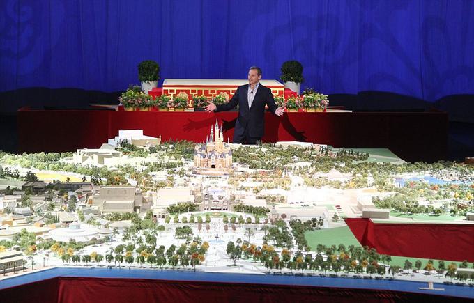 Thượng Hải xây Disneyland phá nhiều kỷ lục cũ