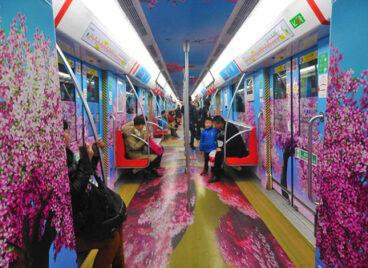 Trung Quốc phủ xanh tàu điện ngầm