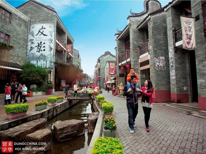 Đại học Ngoại ngữ Ngoại thương Quảng Đông - Quảng Châu- Trung Quốc