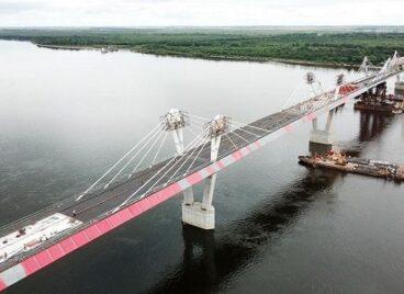 Cầu cao tốc đầu tiên nối giữa Nga và Trung Quốc