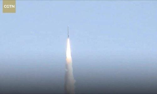 Công ty Trung Quốc phóng tên lửa đẩy 4 tầng mang vệ tinh