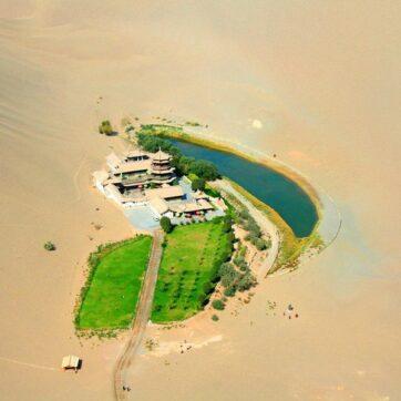 Cam Túc - Điểm đến đẹp khó cưỡng trên miền sa mạc