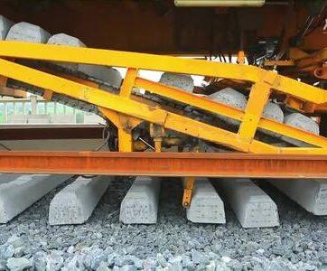 Kỹ thuật xây đường sắt cao tốc siêu êm của Trung Quốc