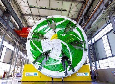 Máy đào hầm lớn nhất Trung Quốc sắp đi vào hoạt động