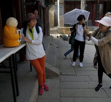 Nhà sư robot gây sốt ở Trung Quốc