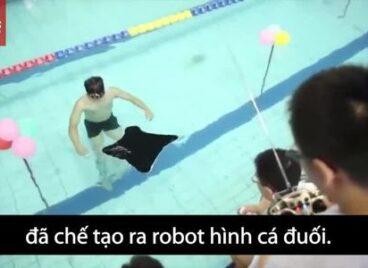 Trung Quốc làm robot thu thập dữ liệu tàu ngầm