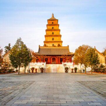 Đi du lịch tháp Đại Nhạn Tây An Trung Quốc