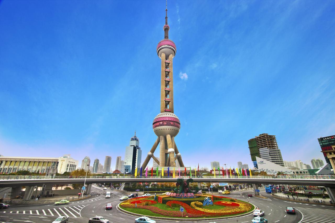 Tháp truyền hình Minh Châu Phương Đông Thượng Hải