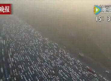 Trung Quốc tắc đường nghiêm trọng với 35 làn xe sau kỳ nghỉ lễ