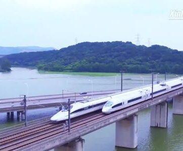 Tuyến đường sắt cao tốc 'bận rộn' nhất Trung Quốc