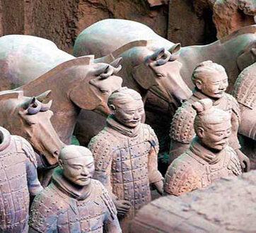 Khám phá khu lăng mộ nhà Tần ở Tây An
