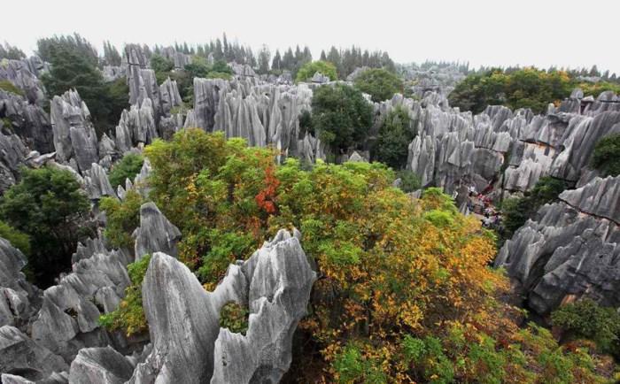 Công viên Vũ Long - kì quan tiêu biểu của Trùng Khánh, Trung Quốc