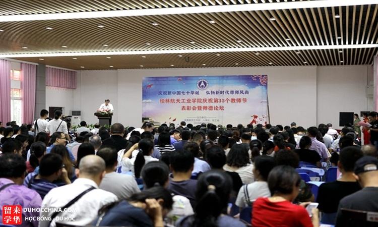Học viện Công nghệ Hàng không Vũ trụ Quế Lâm - Quảng Tây - Trung Quốc