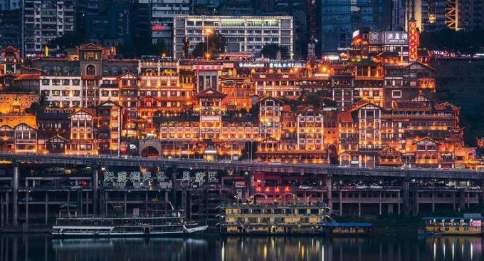 Hồng Nhai Động - danh thắng nổi tiếng ở Trùng Khánh, Trung Quốc