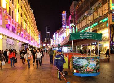 """Phố Nam Kinh – """"Trung Hoa đệ nhất lộ"""" ở Thượng Hải, Trung Quốc"""