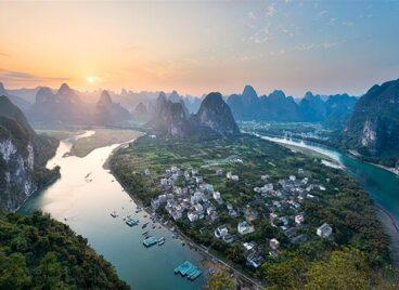 Phố Tây Dương Sóc ở Quế Lâm, Trung Quốc