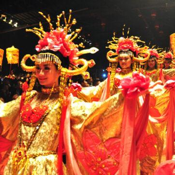 Đến Hàng Châu (Trung Quốc) xem show diễn Tống Thành Thiên Cổ Tình