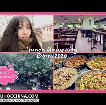 Kí túc xá đại học Hồ Nam có gì?| Hunan University Dorm 2020| Du học Trung Quốc Vlog ??
