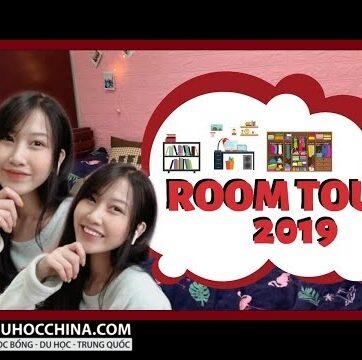 Phòng kí túc xá đại học Hồ Nam 1000 tệ/tháng có gì?| Roomtour 2019| Du học Trung Quốc Vlog ??