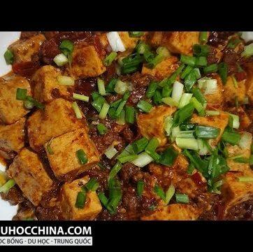 【Ẩm Thực Trung Hoa 家常美食】 Đậu Hũ Tứ Xuyên 川菜麻婆豆腐 好吃得根本停不下来 Mapo Tofu