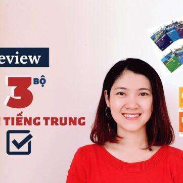 3 GIÁO TRÌNH TIẾNG TRUNG HÁN NGỮ 6 QUYỂN - BOYA - CHUẨN STANDARD COURSE | Review Sách Tiếng Trung