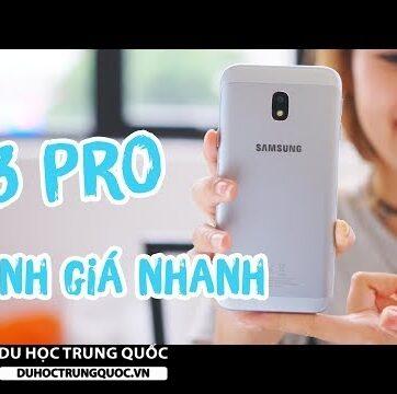 """Galaxy J3 Pro có """" ngon """" như J7 Pro không ?"""