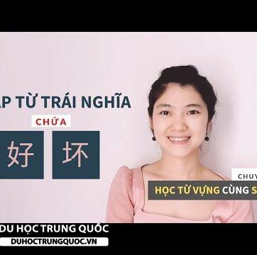 CẶP TỪ TRÁI NGHĨA 好 - 坏| Cách tự học từ vựng tiếng Trung hiệu quả